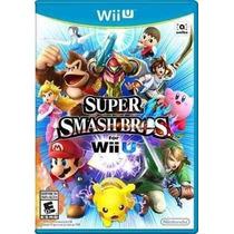 Super Smach Bross Wii U - Lacrado - Pronta Entrega