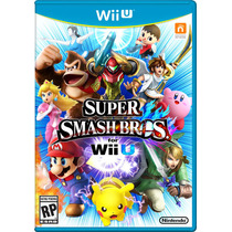 Super Smash Bros For Nintendo Wii U Lacrado Pronta Entrega