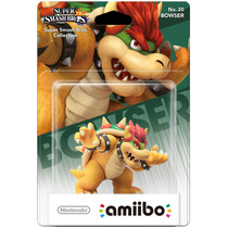 Amiibo Bowser Super Smash Bros New Nintendo 3ds E Wii U