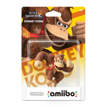 Amiibo Donkey Kong Super Smash Bros New Nintendo 3ds E Wii U