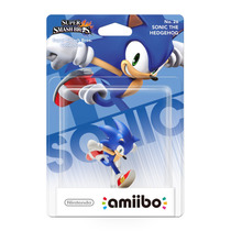 Amiibo Sonic Super Smash Bros New Nintendo 3ds E Wii U