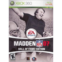 Madden Nfl 07 Hall Of Fame Edition Xbox 360(2 Discos)