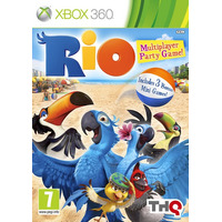 Jogo Novo Lacrado Rio: The Video Game Para Xbox 360