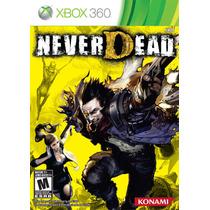 Jogo Novo Original Never Dead Ntsc Da Konami Para Xbox 360