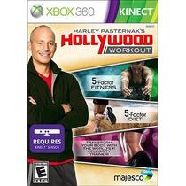 Jogo Hollywood Workout Ntsc Lacrado Xbox 360 Kinect