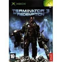 Xbox Terminator 3 Redemption Original Pal