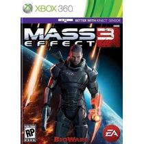 Xbox360: Mass Effect 3 - Jogo Original Novo