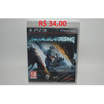 Metal Gear Rising Original Lacrado - Ps3