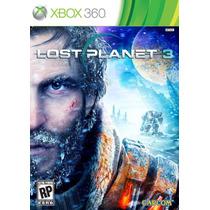 Lost Planet 3 - Xbox 360 - Legendado Em Português - Reg Livr