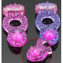 Anel Peniano Vibrador C/ Estimulador Clitoriano Frete Grátis