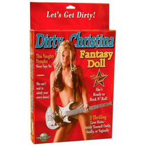 Dirty Christina Fantasy Doll - Boneca Inflável Roqueira Com