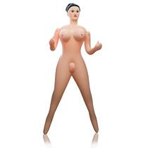 Mulher Inflável Erótica Barbie Vagina Anus Boca