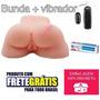 Bunda Realística Masturbadora 2x1 Anus & Vagina Frete Grátis