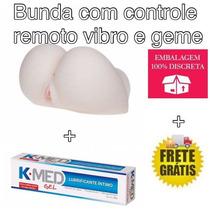 Bunda Realística Masturbadora 2x1 Anus & Vagina + Brinde.