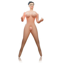 Boneca Inflável Sexo Erótica Barbie Anus