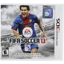 Jogo Nintendo 3ds Fifa Soccer 2013 Fifa 13 Lacrado