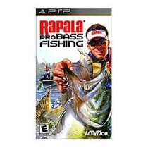 Jogo Umd Pra Psp Rapala Pro Bass Fishing , Pescaria ,lacrado