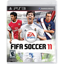Jogo Fifa Soccer 11 Original Lacrado - Ps3 - Ea Sports
