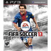 Jogo Fifa 13 Playstation 3 Futebol Novo Lacrado Zerado