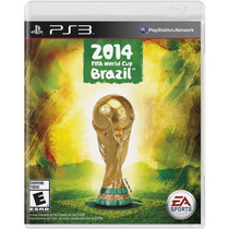 Fifa Copa Do Mundo Ps3 World Cup Brazil 2014 Pronta Entrega