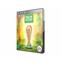 Jogo Ps3 Fifa World Cup 2014 Novo, Original E Lacrado!
