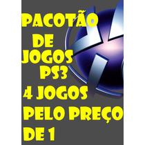 Pacotão De Games Ps3! Via Psn