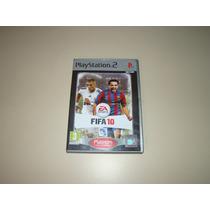 Ps2: Jogo Fifa Soccer Platiniun 2010.