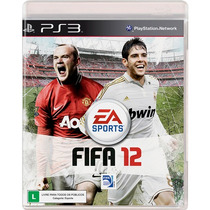 Super Game Fifa Soccer 12 Ps3 Original E Lacrado No Leilão