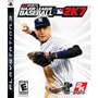 Jogo Ps3 - Major League Baseball 2k7 (eua/original/leia!)