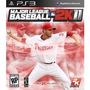 Jogo Major League Baseball 2k11 Da 2k Sports Para Ps3 Play 3