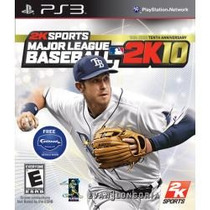Jogo Major League Baseball 2k10 Para Playstation 3 Ps3