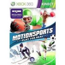 Jogo Motion Sports Xbox 360 Americano Lacrado Para Kinect