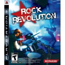 Jogo Rock Revolution Americano Para Ps3 Original E Lacrado