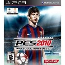 Jogo Americano Semi Novo Pro Evolution Soccer Pes 2010 Ps3
