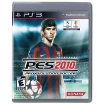 Playstation 3 - Pes 10 - Pes 2010 - Pro Evolution Soccer 10