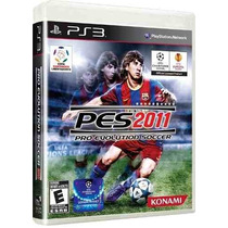 Playstation 3 - Pes 11 - Pes 2011 - Pro Evolution Soccer 11