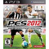Super Game Ps3 Pes 2012 Futebol Novo Lacrado Compre Já