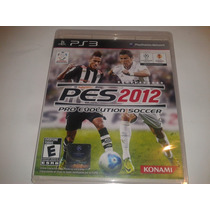 Jogo Pes 2012 Pro Evolution Soccer Original Ps3