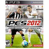 Pes 2012 - Pro Evolution Soccer - Ps3 - Jogo Original
