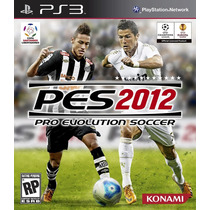 Jogo Semi Novo Pes 2012 Pro Evolution Soccer Playstation 3