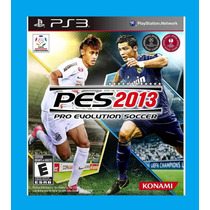 Ps3 - Pes 13 - Pro Evolution Soccer 2013 - Pes 2013