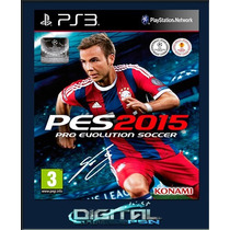 Pro Evolution Soccer 2015 Pes 15 Ps3 Código Psn 11/11