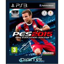 Pro Evolution Soccer 2015 Pes 15 Ps3 Código Psn 11/11