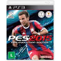 Pro Evolution Soccer 2015 Ps3 Psn