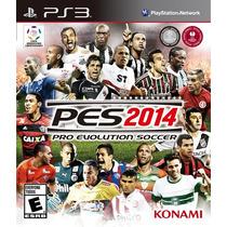 Jogo Novo Pro Evolution Soccer 2014 Pes 14 Pra Playstation 3