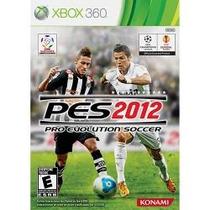 Game Pro Evolution Soccer Pes 2012 - Xbox360 (novo Lacrado)