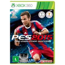 Pes 15 Xbox 360 Pro Evolution Soccer Original E Lacrado
