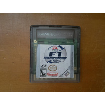 Cartucho F1 Championship Game Boy Original Com Caixa