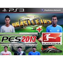 Patch Brasileirão + Bundesliga 2012/2013 Pes 2013 Americano