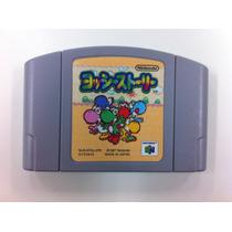 Jogo N64 Nintendo 64 Yoshi Story Jp Joga Em Vídeo Game Ntsc